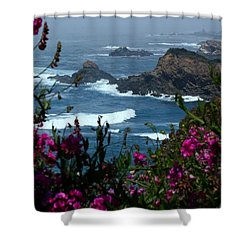 Northern Coast Beauty Shower Curtain by Patrick Witz