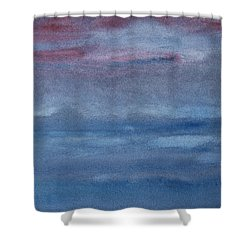 Northern Evening Shower Curtain