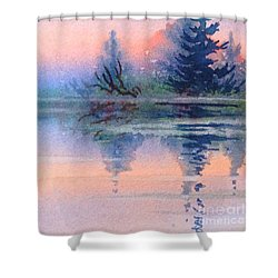 Northern Isle Shower Curtain
