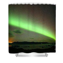 Northern Lights 2 Shower Curtain by Mariusz Czajkowski