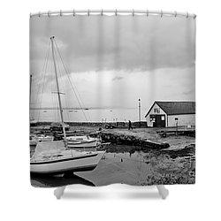 Northern Spring Marina Shower Curtain
