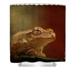 Northern Spring Peeper Shower Curtain