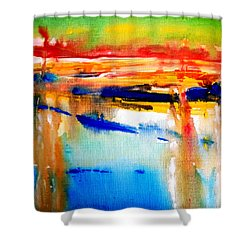 Northern Sunset Shower Curtain