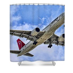 Northwest Coming In By Diana Sainz Shower Curtain