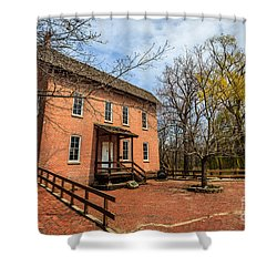 Northwest Indiana Grist Mill Shower Curtain by Paul Velgos