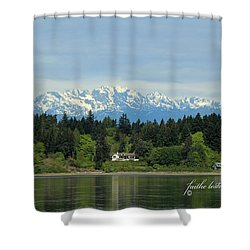 Northwest Living II Shower Curtain