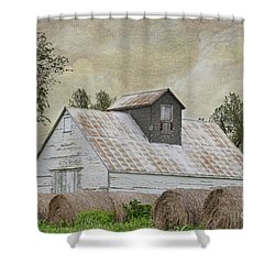 Shower Curtain featuring the photograph Nortonville Kansas by Liane Wright