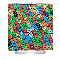Nose To Tail Shower Curtain