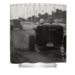 Nostalgia Drags Shower Curtain