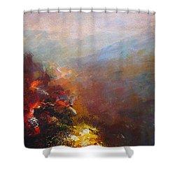 Nostalgic Autumn Shower Curtain