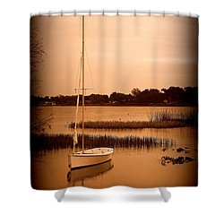 Shower Curtain featuring the photograph Nostalgic Summer by Laurie Perry