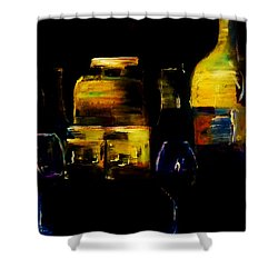 Nostalgic For Two Shower Curtain by Lisa Kaiser