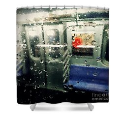 Not In Service Shower Curtain by James Aiken