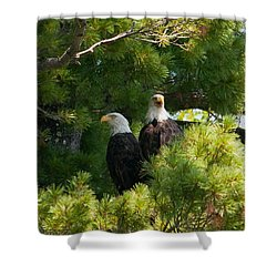 Shower Curtain featuring the photograph Not Listening by Brenda Jacobs