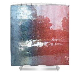 Shower Curtain featuring the photograph Not Making Violet by Brian Boyle