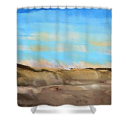 Not So Far Away Shower Curtain