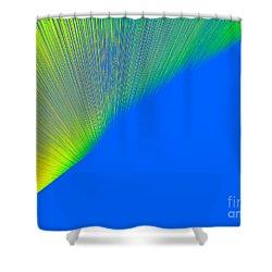 Nothern Lights Shower Curtain by Ausra Huntington nee Paulauskaite