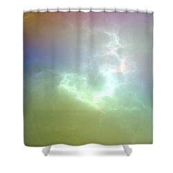 Nova Shower Curtain by Peter R Nicholls