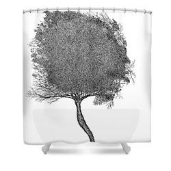 November 2011 Shower Curtain
