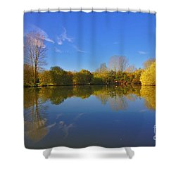 November Lake 1 Shower Curtain