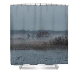 November Mist Shower Curtain