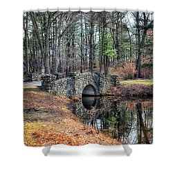 November Reflections Shower Curtain