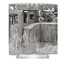 Nprr's Old Engine Number 40 Shower Curtain by Tammy Schneider