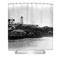 Nubble Shower Curtain