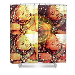 Nubian Beauty Shower Curtain