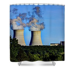 Nuclear Hdr1 Shower Curtain
