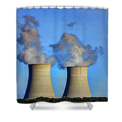 Nuclear Hdr2 Shower Curtain