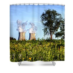 Nuclear Hdr4 Shower Curtain