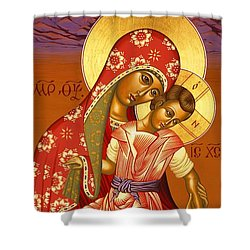 Nuestra Senora De Las Sandias 008 Shower Curtain
