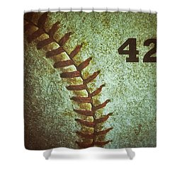 Number 42 Shower Curtain