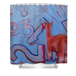 Numbers? Shower Curtain