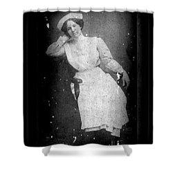 Nursing The Past Shower Curtain