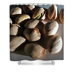 Nuts Shower Curtain by Bill Owen
