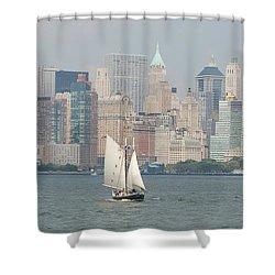 Ny City Skyline Shower Curtain