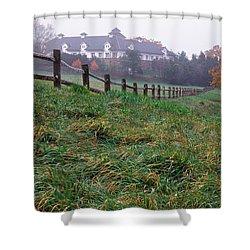 Nyala Fog Shower Curtain
