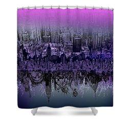 Nyc Tribute Skyline Shower Curtain