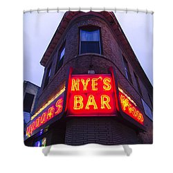 Nye's Bar By Day Shower Curtain