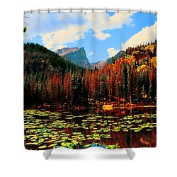 Nymph Lake Shower Curtain by Kathleen Struckle