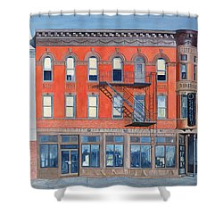 O Sunghai Restaurant West Village Shower Curtain by Anthony Butera