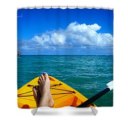 Oahu Toes Shower Curtain
