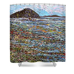 Oak Bay - Low Tide Shower Curtain