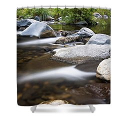 Oak Creek Flowing Shower Curtain