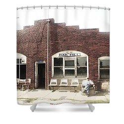 Oakhill Kansas Downtown Shower Curtain