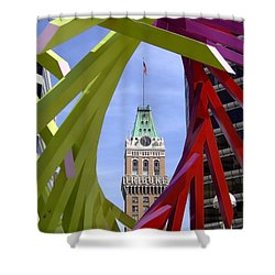 Oakland Tribune Shower Curtain