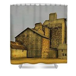 Oakwood Elevator Shower Curtain