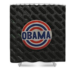 Obama Shower Curtain by Rob Hans